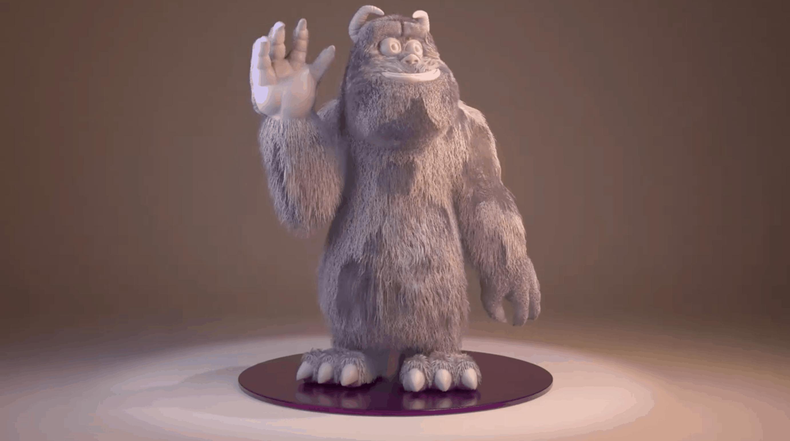 Sully – Modelado 3D