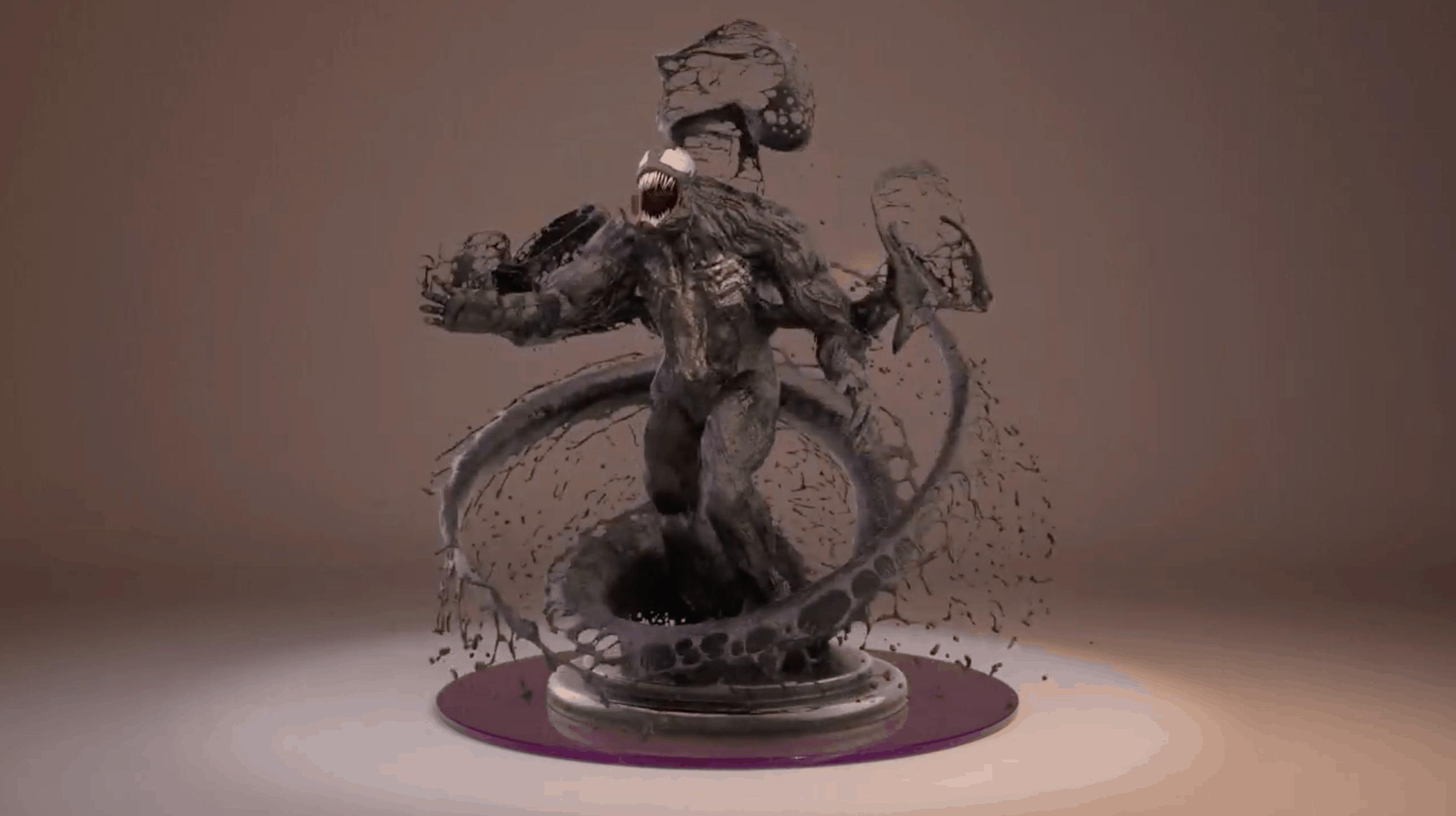 Venom – modelado 3D