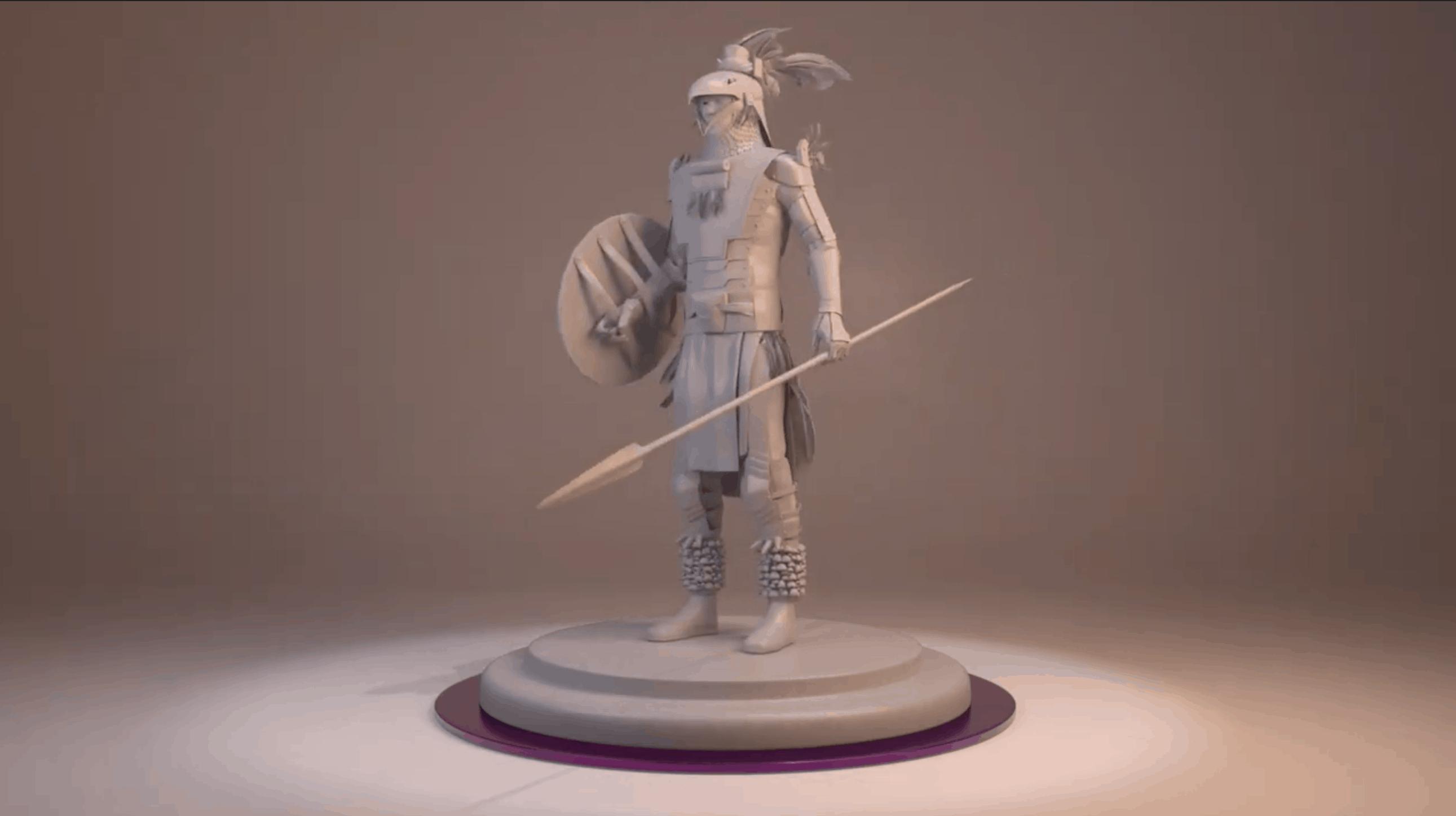 Aztec Alt History – Modelado 3D