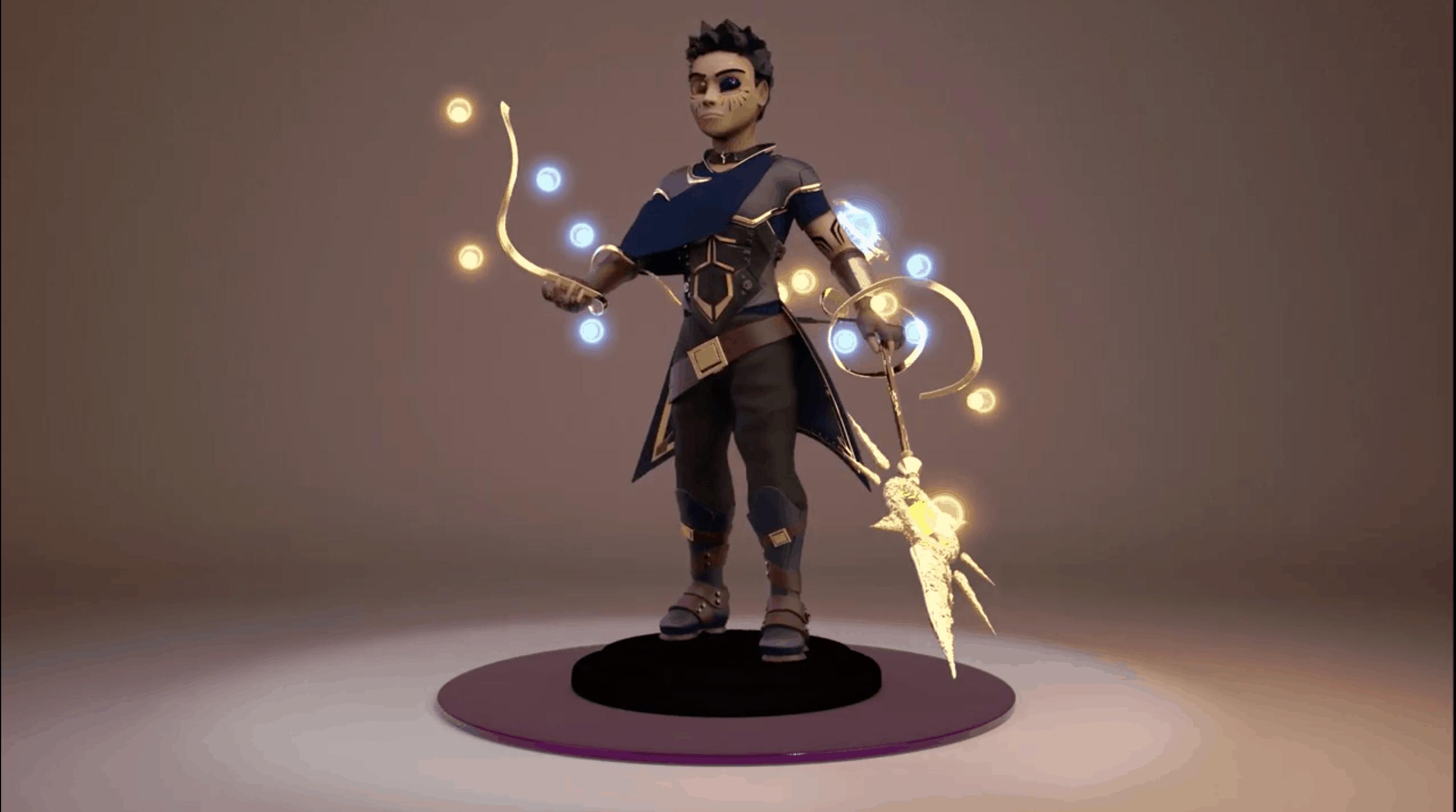 Galactic Warrior – Modelado 3D
