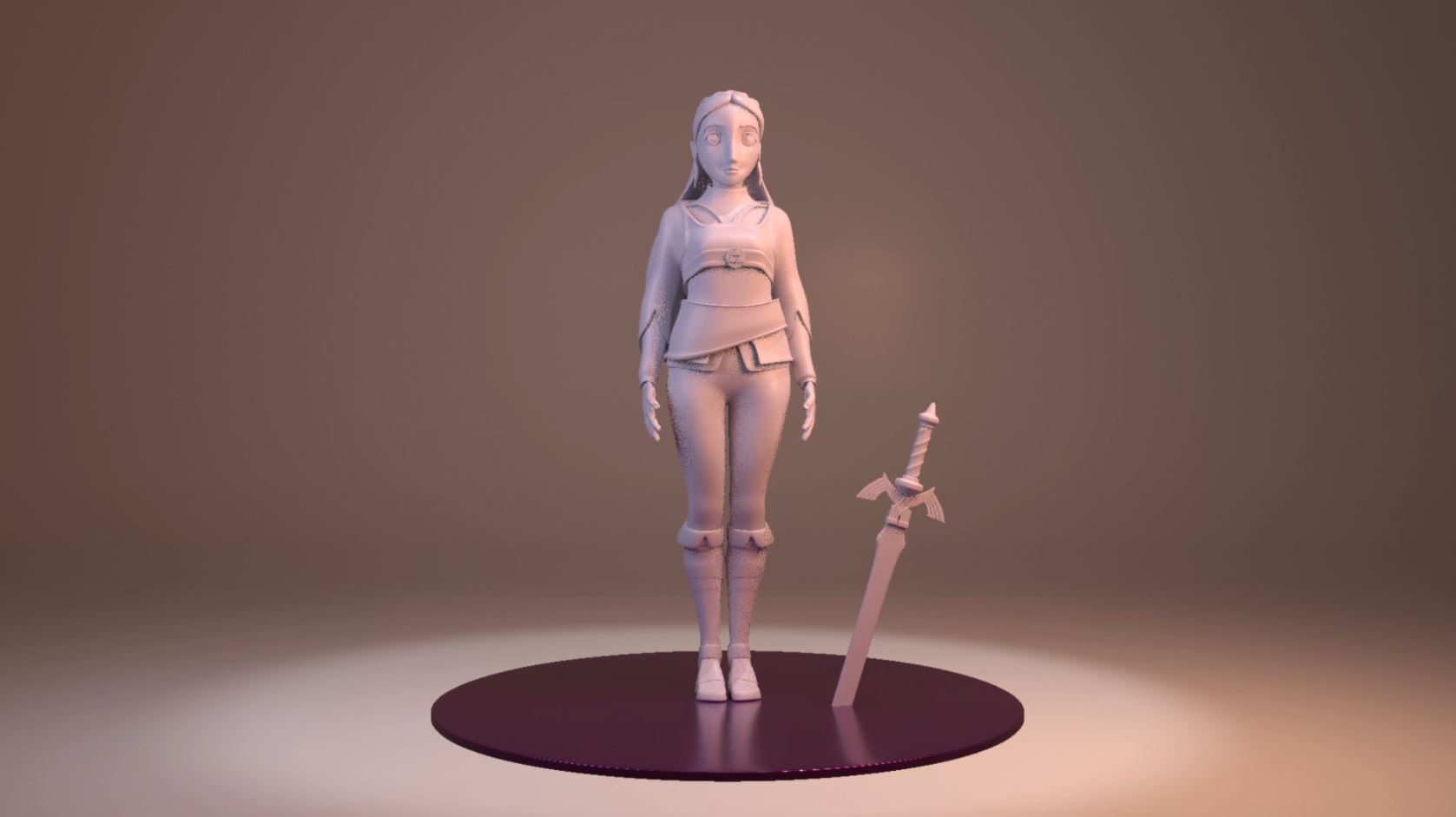 Zelda – Modelado 3D