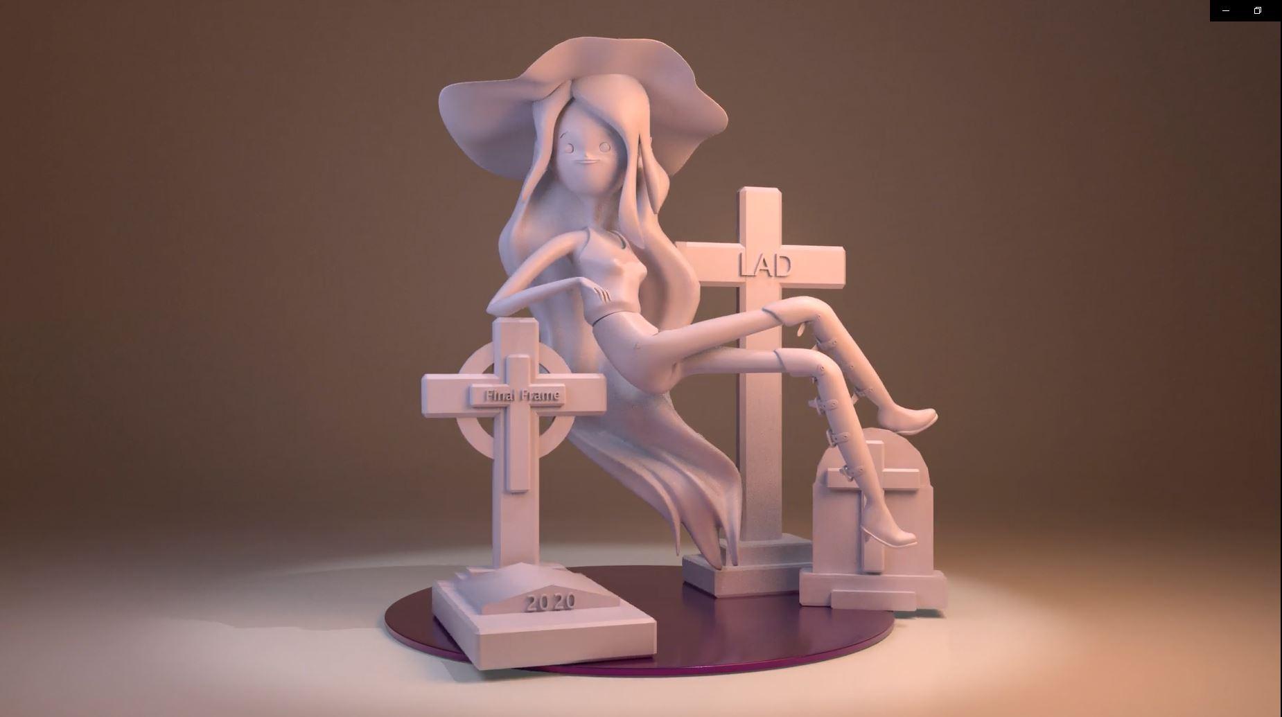 Marceline – Modelado 3D