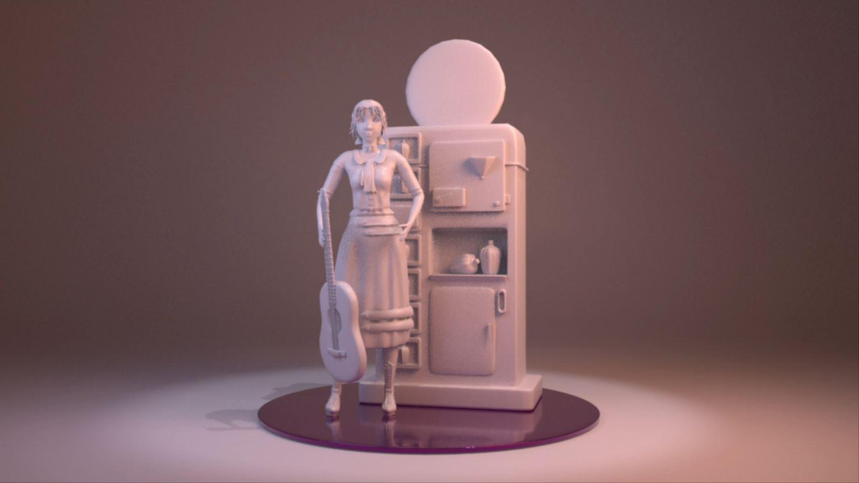Musician – Modelado 3D